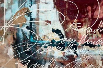 Mixed Media Painting (Detail) by Choichun Leung / Dumbo Arts Cen